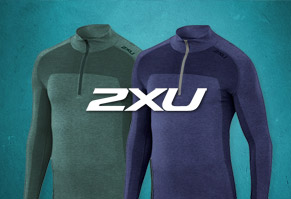 $47.95 2XU Movement Engineered 1/4 zip