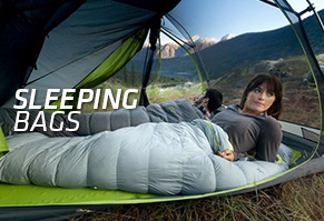 Synthetic & Down Sleeping Bags