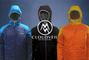 $69.95 Cloudveil Enclosed Hooded Jacket