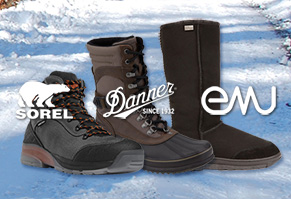 Footwear for Winter - Men's