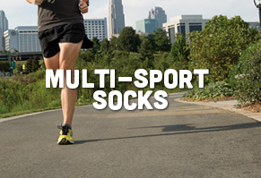High Performance, Breathable & Cushioned Socks