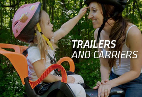 Kids Balance Bikes, Trailers & Carriers
