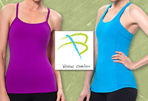 Activewear with Breathable Bra Pads