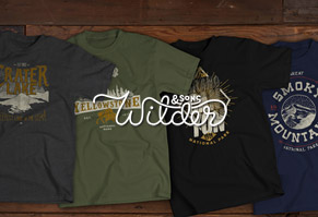 National Park-Themed Throwback Tees