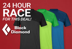 $19.95 Black Diamond Grandeur Tee