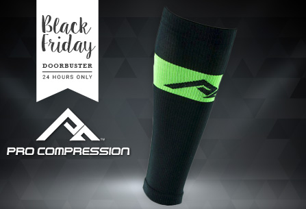 PRO Compression Leg Sleeves @ $13.95