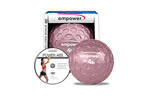 Empower 4lb Fingertip Grip Medicine Ball w/ DVD