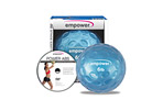 Empower 6lb Fingertip Grip Medicine Ball w/ DVD