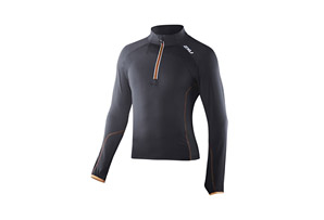 2XU 3/4 Zip Thru Run Top - Mens
