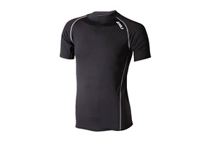 2XU Locker Room Elite Compression Short Sleeve Top - Men's