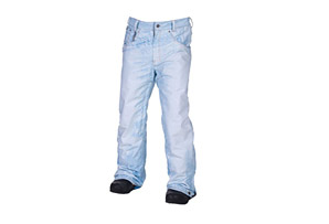 686 Limited Edition Destructed Denim Insulated Pant - Mens