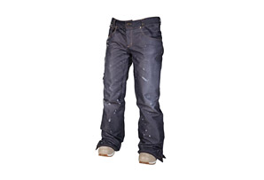 686 Reserved Destructed Denim Insulated Pant - Womens