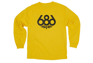 686 Wreath Long Sleeve T-Shirt - Mens