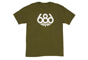 686 Wreath Short Sleeve T-Shirt - Men's