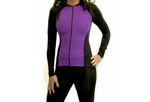 Alii Lifestyle Fitted Long Sleeve Raglan Jersey - Womens