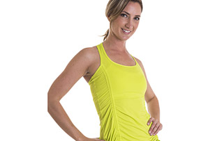 Alii Sport Carina Ruched Front Tank - Women's