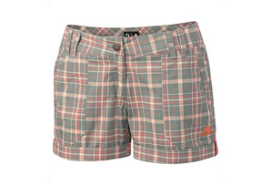 Adidas Edo Check Shorts - Womens