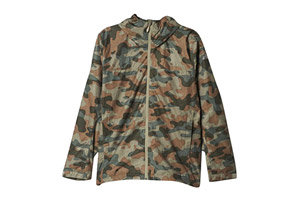 adidas All Outdoor 2L Wandertag All Over Print Camo Jacket - Men's