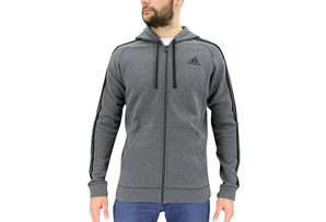adidas Essential Cotton Fleece Full Zip - Men's