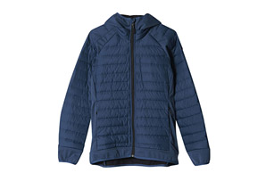 adidas Hybrid Down Hooded Jacket - Women's