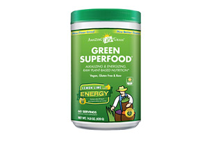Amazing Grass Energy Green SuperFood Canister - 60 Servings