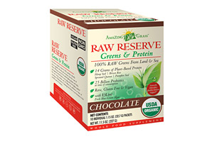 Amazing Grass Raw Reserve Chocolate Protein Canister - Box of 10