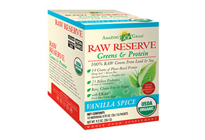 Amazing Grass Raw Reserve Vanilla Spice Protein Canister - Box of 10
