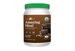 Amazing Grass Chocolate Amazing Meal Canister - 15 Servings