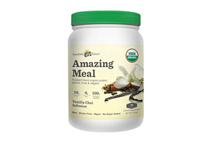 Amazing Grass Vanilla Chai Amazing Meal Canister - 15 Servings