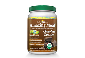 Amazing Grass Chocolate Infusion Amazing Meal Canister - 15 Servings