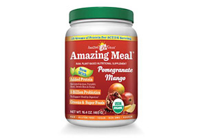 Amazing Grass Pomegranate Mango Amazing Meal Canister - 15 Servings