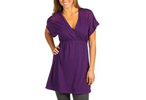 Anue Crop Sleeve Tunic - Womens