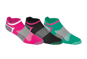 ASICS Quick Lyte Single Tab Women's Socks - 3-Pack