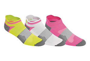 ASICS Quick Lyte Cushion Single Tab Women's Socks - 3-Pack