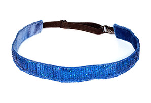 Bani Bands Sequin Royal Blue Sparkle