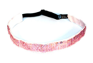 Bani Bands Sequin Pink Sparkle