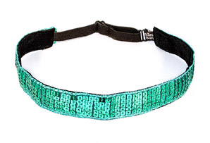 Bani Bands Sequin Teal