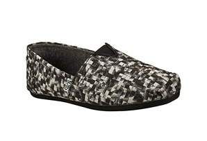 Bobs Plush Speckles & Spots Shoe - Womens