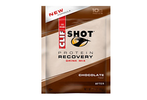 Clif Bar Chocolate Shot Recovery Drink Mix - Box of 12