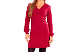 Carve Auburn Dress - Womens