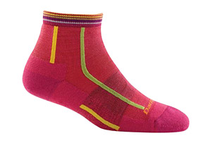 Darn Tough Bermuda Stripe 1/4 Light Cushion Socks - Women's