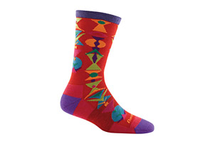 Darn Tough Cosmo Crew Light Socks - Women's