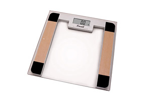 Escali Glass Platform Bathroom Scale