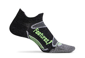 Feetures! Elite Merino+ Ultra Light No Show Tab Socks