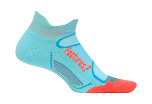 Feetures! Elite Light Cushion No Show Tab Socks
