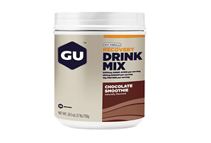 GU Chocolate Smoothie Recovery Drink Mix Canister - 15 Servings
