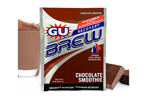 GU Chocolate Smoothie Recovery Brew - Box of 12