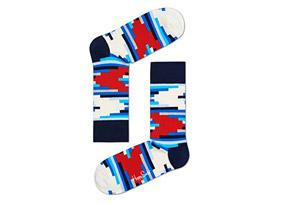 Happy Socks Stripe Off Socks - Unisex
