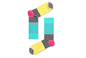 Happy Socks Stripes & Dots Socks - Unisex