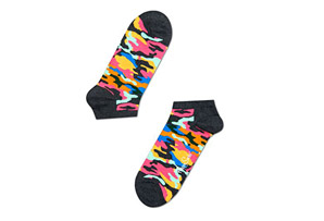 Happy Socks Camo Low Socks - Unisex